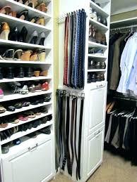 tie and belt organizer hanger closet organizers rack best closetmaid