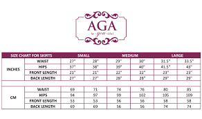 Size Guide Aga Be You Tiful Well Made Tango Clothing