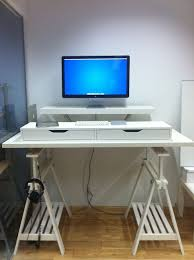 Standing desk ideas - 10 IKEA Standing Desk Hacks With Ergonomic Appeal