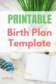 Birth Plan Examples Epidural Birth Plans Birth Plan Templates To Download Print