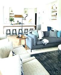 farmhouse living room rug dark grey couch gray what colour goes with sofa modern kitchens area