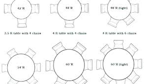 dining table measurements round table measurements 6 foot round table by 6 foot tablecloth trade
