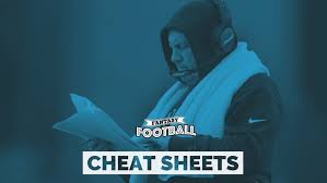 Standard Nfl Team Depth Chart Cheat Sheets Fantasy Football 2019 Printable Cheat Sheets For Top 200