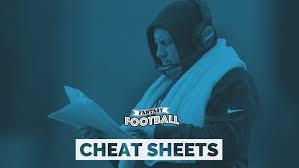 Fantasy Football 2019 Printable Cheat Sheets For Top 200