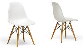 ... Modern White Dining Room Chairs For Popular Wood Leg White Accent Chairs  Modern Dining Chairs ...