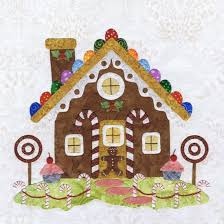 16 best Baltimore Christmas quilt by P3 images on Pinterest ... & Baltimore Christmas Block 10 - or perhaps just a gingerbread house? Adamdwight.com