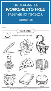 Say a sound and children identify the correct letter(s) by circling/colouring. 2 Kindergarten Worksheets Free Printables Phonics Coworksheets