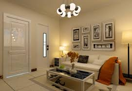 image of large living room wall decor design