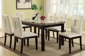 round marble dining table sets solid room black top set folding pub