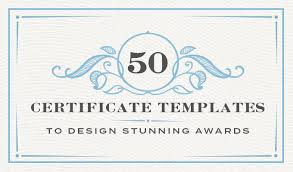 High School Diploma Certificate Fancy Design Templates 50 Certificate Templates To Design Stunning Awards