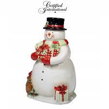 """<b>Christmas Банка для печенья</b> 3D """"Звездная Ночь"""" (снеговик) 31 см ..."""