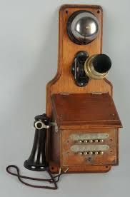 antique telephone wall phone