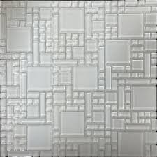 Peel And Stick Kitchen Tile Shop Instant Mosaic White Versailles Mosaic Glass Wall Tile