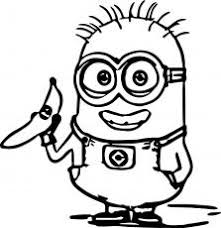 Small Picture To print minion coloring pages from Despicable Me for free