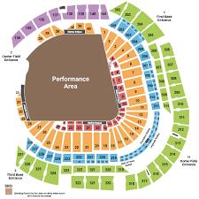 Marlins Seating Chart Marlins Ballpark Tickets Box Office Seating Chart