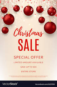 Christmas Sale Flyer Template