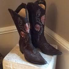 50 Off Sale Suede Cowboy Boot Sz 5 6