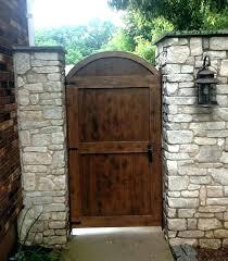 custom garden gates cedar gate door finished wood made wooden custom garden gates