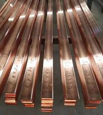 Electrical Bus Bar Ampacity Chart Copper Bus Bars Manufacturers India Flat Copper Busbar