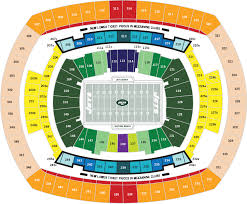 Giants Metlife Seating Chart Metlife Stadium E Rutherford Nj Seating Chart View