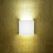 Lampade Da Soffitto In Gesso : Applique in gesso ledessenzialed u illuminazione a led