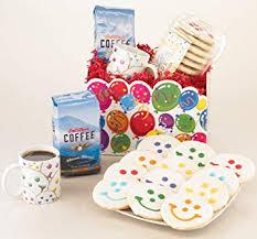 smiling joe cookie and coffee gift basket decaf coffee