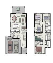 Duplex Designs For Narrow Blocks The Byron 237 Is A Clever Design Suitable For Narrow Blocks