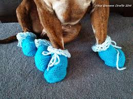 view in gallery dog booties
