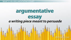 argumentative essay definition format examples video  argumentative essay definition