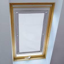 Details Zu Dachfenster Rollo Verdunkelung Dachfensterrollo Thermo Sonnenschutz Saugnäpfe