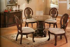 10 photos to glass round kitchen table
