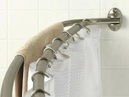 moen curved tension shower rod installation