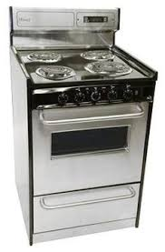 Small Picture Perfect stainless steel oven and range for tiny house kitchen