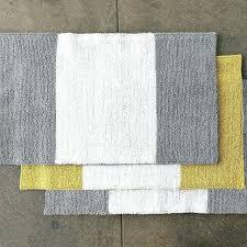 yellow and gray bathroom rug chevron bath mats cool yellow and gray bath mat grey and