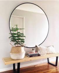 popular large round mirror regarding 30 best ideas of black mirrors remodel 6