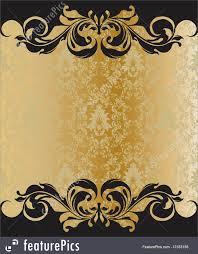 elegant invitation templates com templates elegant vintage invitation template stock