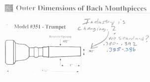Parduba Trumpet Mouthpiece Comparison Chart Efficient Bach French Horn Mouthpiece Comparison Chart 2019