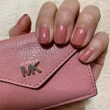 ぶた色 ネイル セルフネイル マニキュア ピンク 豚ピンク 春