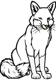 Small Picture Download free fox coloring page