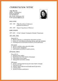 Curriculum Vitae Vs Resume Sample 12 Cv Vs Resume Examples