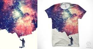 How To Design A Shirt With Paint Painting The Universe A Cool T Shirt By Badbugs_art On Threadless