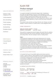 Product Manager Resume Newfangled Cv Template Cruzrich