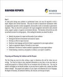 business reports examples sample formal business report delli beriberi co