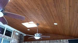 Plywood Plank Ceiling Austin Cedar Screen Porch Ceiling Youtube