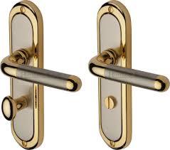door handles. Plain Handles Heritage Brass Vienna Door Handle  Satin Nickel And Gold Bathroom To Handles 4