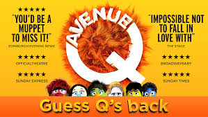 Avenue Q Tickets | Musicals Tours & Dates | ATG Tickets