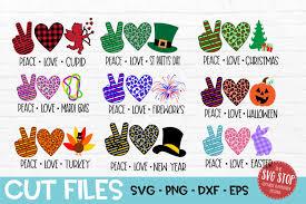 Derivative works of this file: Peace Love Bundle Svg Png Dxf Eps 409622 Svgs Design Bundles