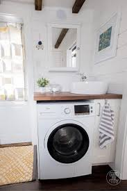 tiny house washer dryer. Beautiful Dryer Interview U0026 Video Jadon And Katieu0027s Good Tiny House Bathroom Sink Washer  Dryer Throughout Washer Dryer H