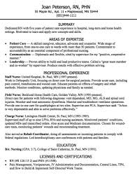 Health Insurance Nurse Sample Resume