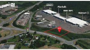 1 1 acres of commercial land in bloomsburg pa